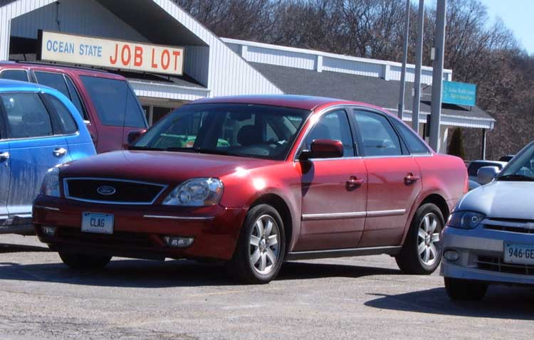 Perhaps surprisingly, that distinction goes to the Ford Five Hundred/Mercury