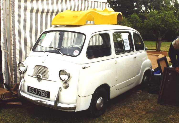 fiat multipla 600. 600 Multipla which heads