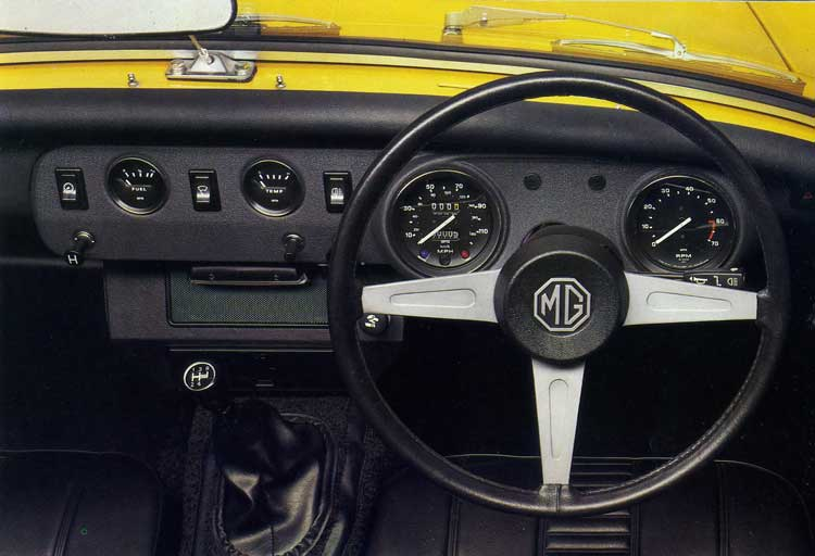 Mg Midget Dashboard 71