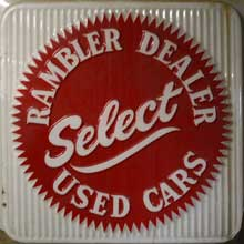 Rambler Select Used Cars sign