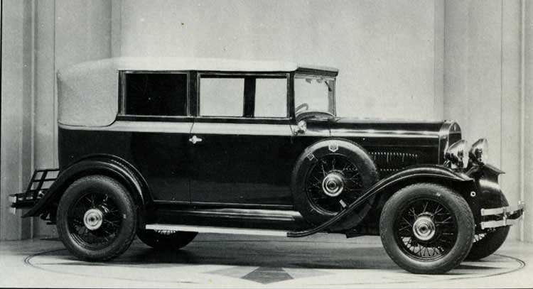 MECHANICAL PARTS FOR HUDSON SUN SEDAN 1930 — Hudson Essex