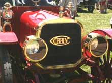 1909 Corbin Model O radiator