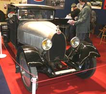 Bugatti Club stand at Retromobile 2011