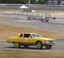 Pontiac Bonneville at LeMons