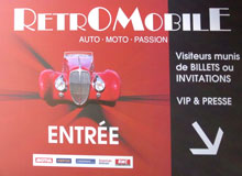 Rétromobile welcomes you